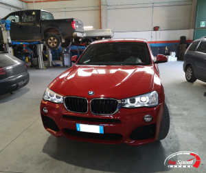MAPPATURA BMW X4 Xdrive 20d – TOP SPEED GARAGE – FERRARA