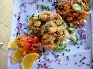 """Ristorante italiano specialità frittura di pesce, """" acqu`e sale """" a old market, Sharm el sheikh"""