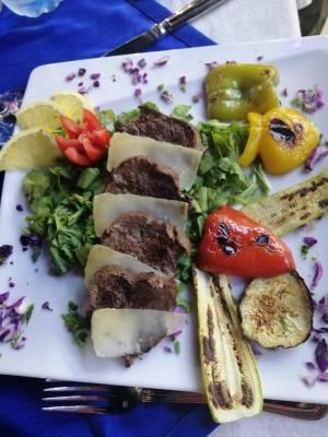 I piatti del ristorante Acqu'e Sale a sharm el sheikh