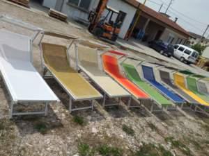 Offerta Lettini da spiaggia usati e rigenerati di tutti i colori , Da Articoli Balneari,  Vicenza