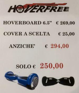 Promozione HoverFree hoverboard con cover