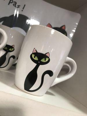 Tazze da tè da caffè-uno due tre Euro-ferrara
