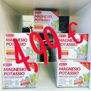 4,99 € MAGNESIO POTASSIO WHY SPORT-DF SPORT EVOLUTION – VALDAGNO – VICENZA