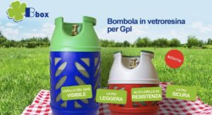 BOMBOLE IN VETRO RESINA GAS GPL-ESTENSE GAS-FERRARA