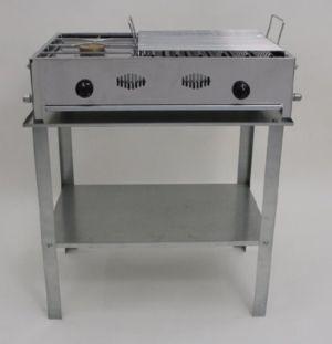Barbecue acciaio inox gas professionale-ESTENSE GAS-Bologna