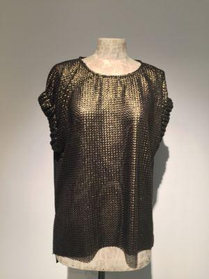 Camicia top donna imperial oro christmas 2016 – Bologna – Flow