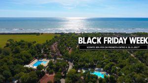 BLACK FRIDAY WEEK SCONTO 30% – I TRE MOSCHETTIERI CAMPING VILLAGE – FERRARA – COMACCHIO