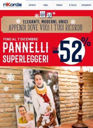 PROMO -52% SU PANNELLI SUPERLEGGERI – PADOVA – Le Foto di Laura