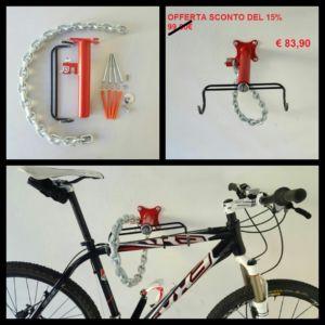 "Antifurto per Biciclette a muro ""Anaconda 11mm"" – Verona – Verona – Securebike"