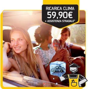 Ricarica clima + assistenza stradale € 59,90