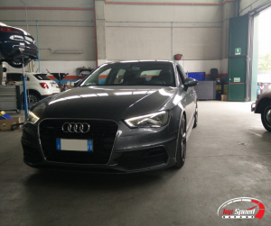 ASSETTO AUDI A3 8V 2.0 TDI QUATTRO – TOP SPEED GARAGE – RAVENNA