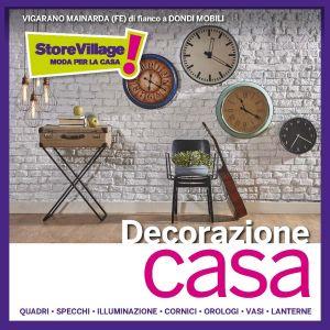 Nuovi arrivi decorazione casa – STORE VILLAGE – Ferrara – Vigarano Mainarda