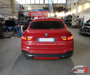 MAPPATURA BMW X4 Xdrive 20d – TOP SPEED GARAGE – RIMINI