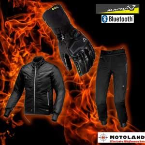 ABBIGLIAMENTO RISCALDATO   In inverno il  freddo  è il primo nemico del  motociclista . La  migliore soluzione  per il  mototurista  è l' abbigliame