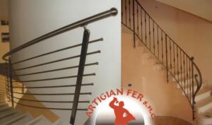 Realizzazione ringhiere scale – Vicenza – CARPENTERIA METALLICA ARTIGIANFER