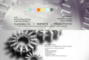 Lavorazioni meccaniche di precisione – Vicenza – JVONNE S.R.L.