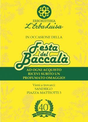 FESTA DEL BACCALA'- Erboristeria L'ErbaLuisa – Sandrigo – Vicenza