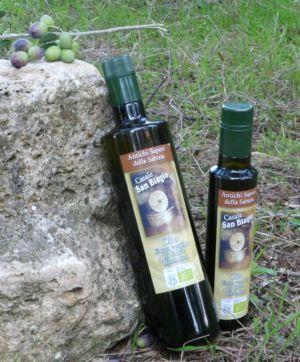 olio biologico nuovo raccolto Sabina -Bio San Biagio