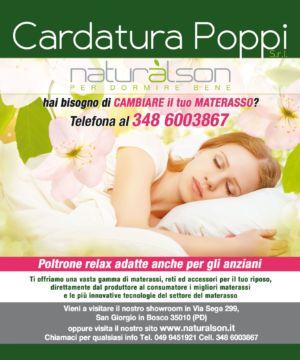 Offerta materasso memory matrimoniale e singolo, Padova, San Giorgio in Bosco, Naturalson Materassi, Cardatura poppi srl