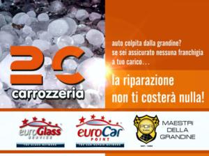 Riparazione auto contro la grandine – Vicenza – Carrozzeria 2C