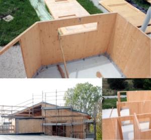 Realizzazione case in legno – Rovigo – Lavorazione Legno Giorgi Roberto