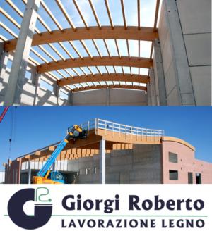 Realizzazione coperture in legno – Ferrara – Lavorazione Legno Giorgi Roberto