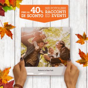 Offerta sconto del 40% su fotolibro , da Fotografie Dalla Vecchia a Marno Vicentino – Vicenza