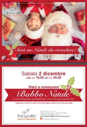 Il 2 Dicembre Fotografia con Babbo Natale da Fotografie Dalla Vecchia a Marano Vicentino -Vicenza