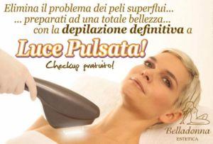 Depilazione definitiva – Padova – Cittadella – Estetica Belladonna