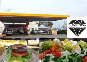 Area di servizio carburante con bar – Ferrara – Diamantina sas