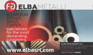 Vendita e lavorazione di bronzo, alluminio, ottone , rame e ghisa – E.L.B.A srl – FERRARA – BOLOGNA