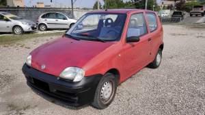 FIAT 600 1.1 EURO 1.300   gomme quasi nuove (6 mm), ruota di scorta, cinghia distr. sost da ex prop. a km 74.000 nel 05/2019.