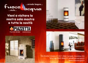 Novità stufe e arredo bagno nella sala mostra – Vicenza – Cornedo Vicentino, Brogliano, Trissino – Fuoco & Acqua