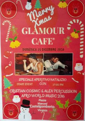 Speciale Aperitivo Natalizio – Vicenza – Castelgomberto – Glamour Cafè