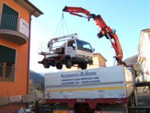 Servizi Gru De Gerone – Treviso – AUTOTRASPORTI DE GERONE