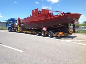 Trasporto barche-Marzola spedizioni-Ferrara