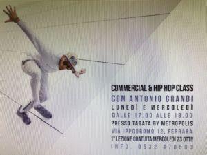 corso hip hop-Tabata by metropolis-Ferrara