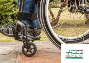 Noleggio carrozzelle ortopediche – Ferrara – Ortopedia Sanitaria S. Anna