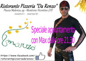 Serata festa della donna locale a Vicenza – Montorso Vicentino – Ristorante Pizzeria Da Renzo