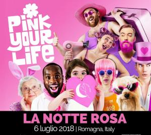 NOTTE ROSA 2018 EMILIA ROMAGNA – CAMPING VILLAGE I TRE MOSCHETTIERI – FERRARA