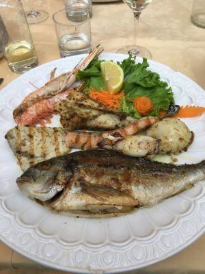 Specialità a base di pesce – Verona – Ristorante Pizzeria La Perla