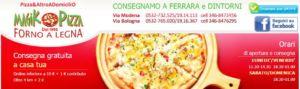 Pizzeria d'asporto con forno a legna rotante – Magik Pizza – Ferrara