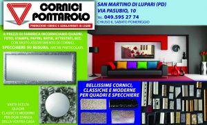 Occasioni specchiere e cornici per quadri – Cornici Pontarolo S.Martino di Lupari