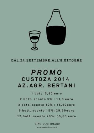 Promozione Custoza 2014 – Vicenza – Thiene – VINO QUOTIDIANO