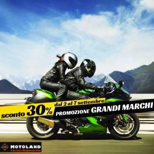 Promozione Grandi Marchi -30% – Motoland – Ferrara