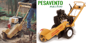 Noleggio Fresaceppi Fema – Vicenza – Brendola, Creazzo, Altavilla Vicentina – PESAVENTO MACCHINE
