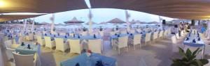 Ristorante e Bar direttamente sulla spiaggia , La terrazza al Domina Coral Bay a sharm el sheikh
