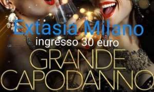 Notte di Capodanno all'extasia , lap Dance a milano