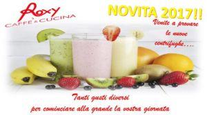 Novità 2017!!! Venite a provare le nuove centrifughe – cornedo vicentino-castelgomberto-trissino-brogliano-valdagno-Roxy Caffè