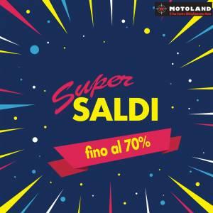 SALDI 2019 con Sconti fino al 70% da Motoland Ferrara